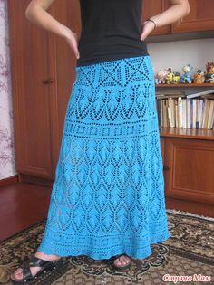 *Юбка в пол от Оли Sexy Crochet