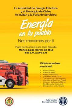 Feria de Servicios: Energía en tu Pueblo #sondeaquipr #energiaentupueblo #ciales #feriaspr