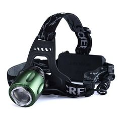 Canwelum Brightest Zoom CREE LED Headlamp Camping Hunting or Fishing Rechargeable Head Lamp Hiking LED Headlight A Complete Set with 18650 Liion Batteries and Charger Bigger Battery Power Capacity Longer Run Time -- Learn more by visiting the image link. Rugby Workout, Christmas Presents For Men, Big Battery, Camping Lights, Charger, Hunting, High Beam, Backpacking, Lanterns