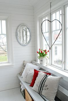 Lynda.....this is you!!! Mirrors,hearts and red, white, blue :o)!