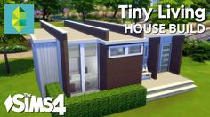 The Sims 4 House Building - Tiny Living - YouTube