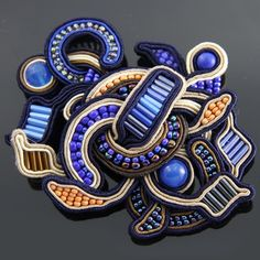 ~~soutache - brooch-pendant by Anna Lipowska Lianne~~