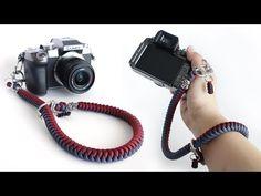 Vintage Camera How to Make a Snake Knot Paracord Camera Strap Tutorial Snake Knot Paracord, Paracord Weaves, Paracord Camera Strap, Camera Wrist Strap, Nikon Camera Tips, Camera Hacks, Camera Gear, Diy Camera Slider, How To Make Camera