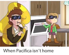Gravity Falls. When mom isn't home meme --- Pacifica, adult Dipper Pines, ship