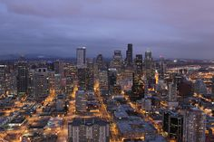 View from Space Needle by elevated.vision, via Flickr