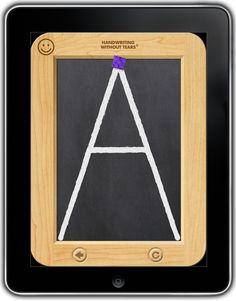 iPad App | Handwriting Without Tears. As far as I'm concerned HWT is the ONLY way to learn handwriting!  Love this program.  Schools need to get with the program!!  And get out of the 70's/80's D'Nealian era!!!