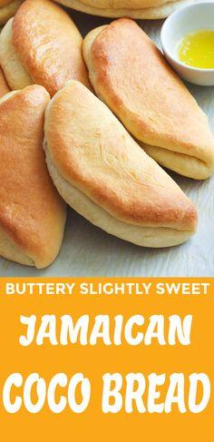 Jamaican Cuisine, Jamaican Dishes, Jamaican Recipes, Sandwich Bread Recipes, Easy Bread Recipes, Baking Recipes, Quick Bread, Carribean Food, Caribbean Recipes