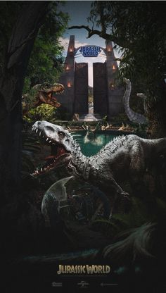 Jurassic World (fan art)
