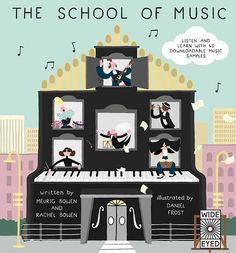 The School of Music by Meurig Bowen and Rachel Bowen