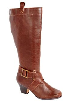 Comfortview Women's Jali Wide Calf Boot Black,9 1/2 M - Brought to you by Avarsha.com