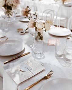 This stunning wedding styled by the bride herself! was such a pleasure to work alongside. Spotted here rose gold foiled menus designed & printed by us. It's always a pleasure to work with some of our industry favs Stunning photo by Wedding Table Decorations, Wedding Table Settings, Decoration Table, Wedding Centerpieces, Wedding Designs, Wedding Styles, Wedding Trends, Wedding Ideas, Floral Wedding