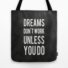 Dreams Don't Work Unless You Do by Kimsey Price Inspiration Quote