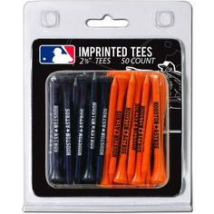 Team Golf Houston Astros 2.75'' Golf Tees - 50 Pack