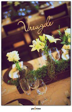 Wedding done by Peridot Flowers