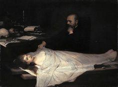 Max, Gabriel (1840-1915) - 1869 The Anatomist (Neue Pinakothek, Munich, Germany)