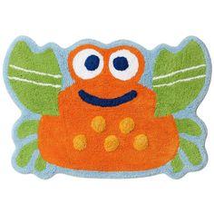 "Jumping Beans Fish Tales Crab Bath Rug 20""x30"" Cotton Machine Wash NEW | eBay"