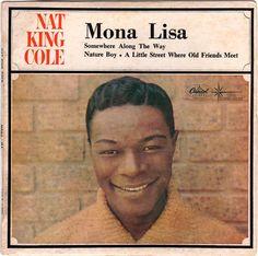 Nat King Cole - Mona Lisa (EP) (Australia, 1965)