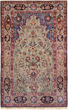 Schuler Auktionen Zürich  |  Kashan-Suf  Z-Iran, um 1900 125x205 cm (ft. 4.1x6.8).