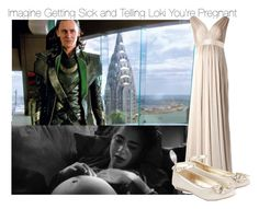 """Imagine Getting Sick and Telling Loki You're Pregnant"" by fandomimagineshere ❤ liked on Polyvore featuring Monsoon, bedroom and bathroom"