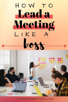 Get great tips on how to lead a meeting like a boss! Bring your team together to be highly productive, engaged, inclusive, and successful.