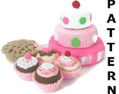 Bake a Pie Play Food Crochet Pattern por CrochetNPlayDesigns