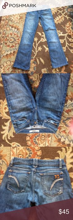 Joe's Jeans Honey Curvy fit, great on the butt. EUC. Inseam 30. Trades and offers always considered. Joe's Jeans Jeans Boot Cut