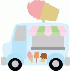 Silhouette Design Store Ice Cream Truck