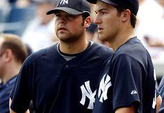 Joba Chamberlain and Phillip Hughes, Yankees young guns.