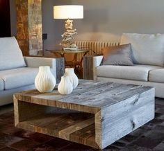 Diy Pallet Furniture, Rustic Furniture, Furniture Design, Home Entrance Decor, Home Decor, Table Cafe, Diy Casa, Coffee Table Design, Home Interior Design