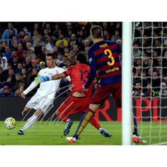 Cristiano Ronaldo Signed Madrid Barcelona El Clasico Goal 12x16 Photo (Icons COA)