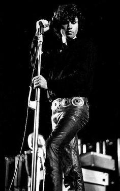"""Jim Morrison on stage, 1968. """""""""""