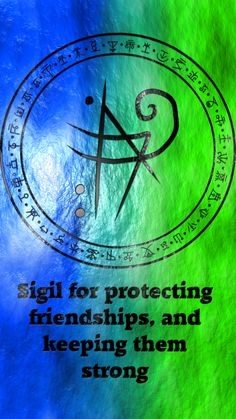 Sigil for protecting friendships, and keeping them strong requested by @infinityyyofthefallen