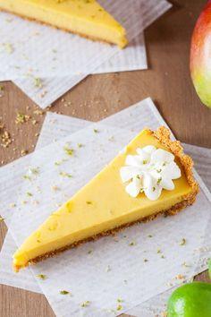 Mango Key Lime Tart