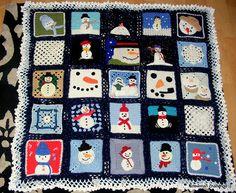 Fab Snowman Blanket#snowman