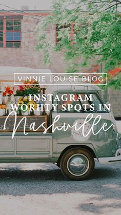 Instagram Worthy Places In Nashville!! #instagramworhty #Instagramnashville #nashvillephotoop #placesnashville Traveling to Nashville is SO FUN. Somewhere inside all of us, we know we just LOVE taking photos of the places we go and the things we see. Well, we at Vinnie Louise made that easy for you. Here is a list of some of our absolute favorite Instagram Worthy places in Nashville. Visit Tennessee, Tennessee Vacation, Nashville Tennessee, Visit Nashville, Nashville Trip, Instagram Wall, Instagram Worthy, National Parks Usa, Landscape Photos