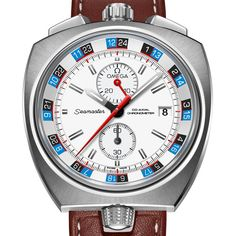 OMEGA has reissued a limited-edition version of the iconic chronograph OMEGA the Seamaster Bullhead (See more at: http://watchmobile7.com/articles/omega-seamaster-bullhead) (5/7) #watches #omega @Omega Hedgepeth Watches @Omega Hedgepeth Watches