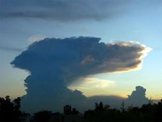 Anvil Cloud Over Bangalore, India - Earth Science Picture of the Day