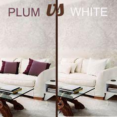 PLUM VS WHITE