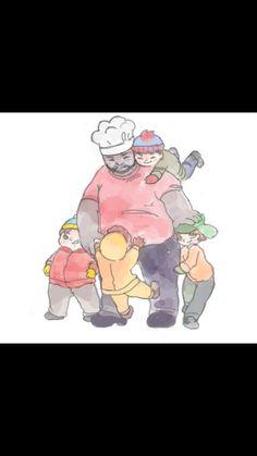 South Park | Kyle Broflovski | Eric Cartman | Chef | Stan Marsh | Kenny McCormick