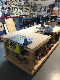 2019 workbench : Workbenches woodworking bench woodworking bench bench diy bench garage workbench bench plans how to build Workbench Plans Diy, Mobile Workbench, Woodworking Bench Plans, Woodworking Projects Diy, Woodworking Furniture, Garage Workbench, Woodworking Techniques, Woodworking Tools, Rolling Workbench