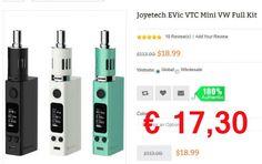 Joyetech EVic VTC Mini Kit nur € 17