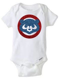 Chicago Cubs Onesie by BAMCustomCreations on Etsy
