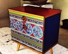 RuSsIaN pUpPy High Beds, Hope Chest, Storage Chest, Wedding Gifts, Bohemian, Etsy, Raised Beds, Wedding Giveaways, Lit Mezzanine