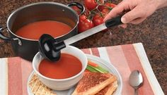 Rada Cutlery Non-Scratch Soup Ladle W983 – Best Knife USA