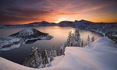 photographies de paysages d'hiver