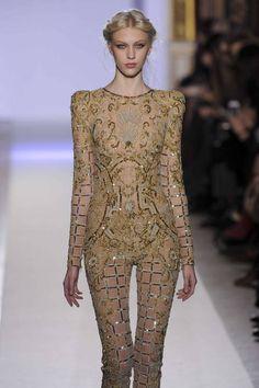Juliana Schurig @ Zuhair Murad Haute Couture S/S 2013, Paris