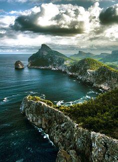 Hoy nos vamos hasta Formentor, para disfrutar de unas vistas excepcionales