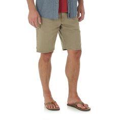Wrangler Men's Wrangler® Relaxed Denim Short (Size: 33x10) Khaki