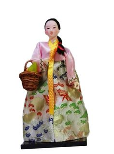 Amazon.com: Korean Ancient Costume Doll/Special Gifts/Decorations-05: Toys & Games