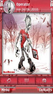 Tema SIS zombiep hc para celular